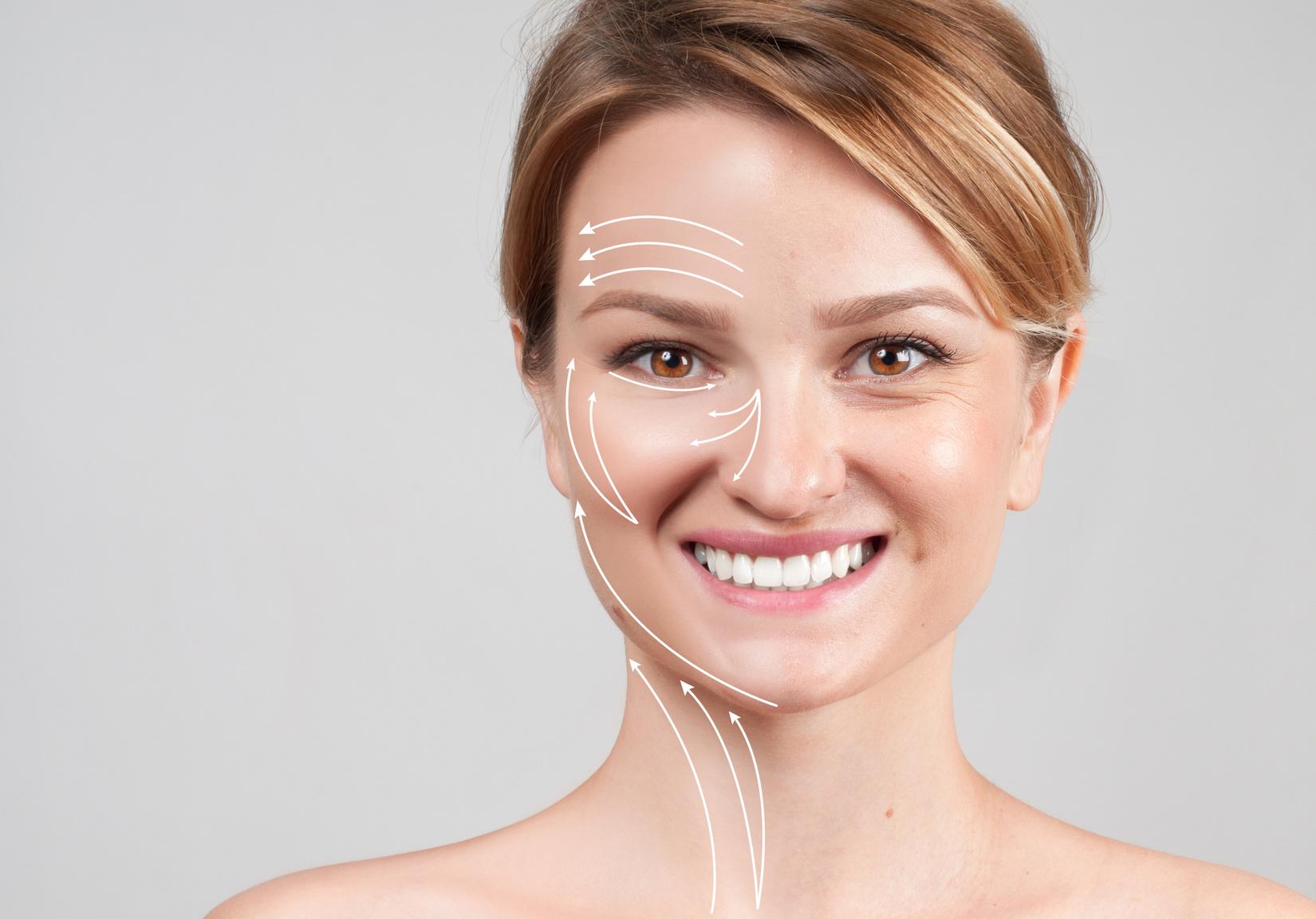 Utracona jędrność skóry na twarzy
